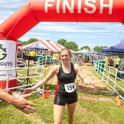 mud run finish line